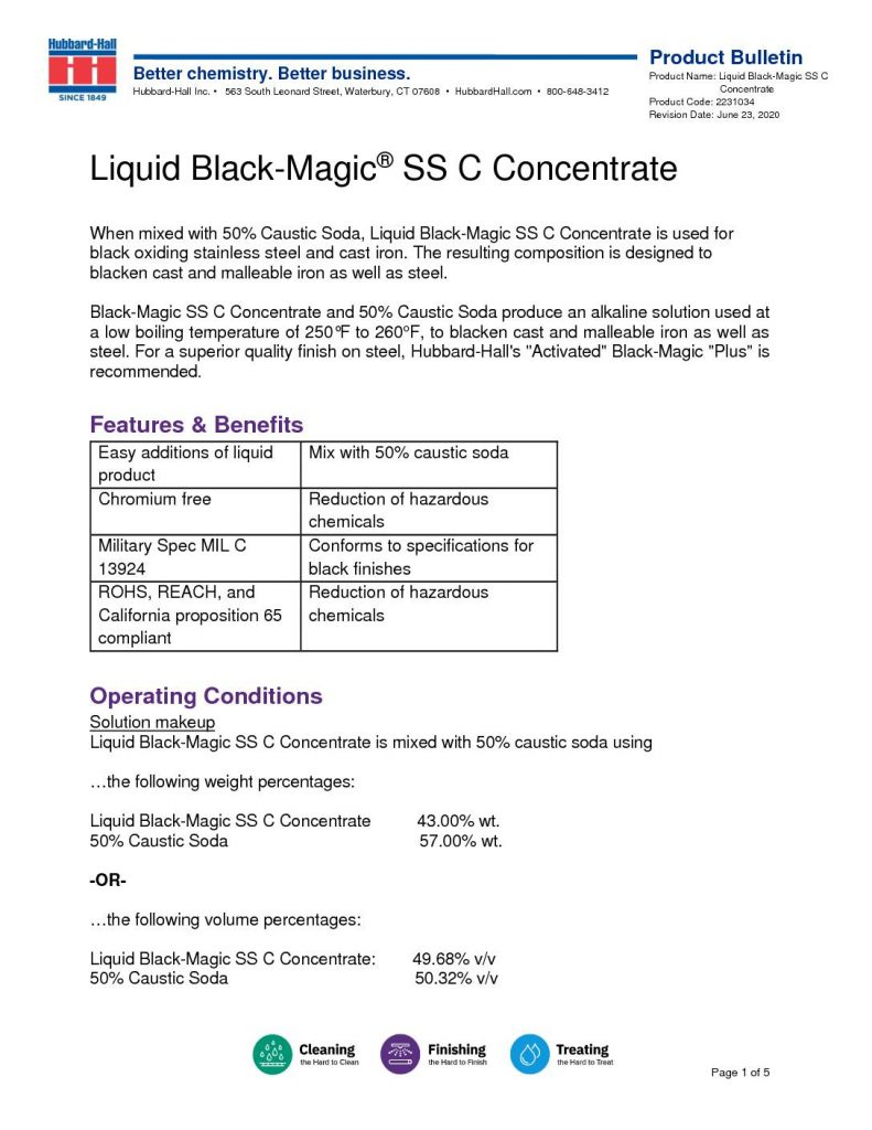 liquid black magic ss c concentrate pb 2231034 pdf 791x1024