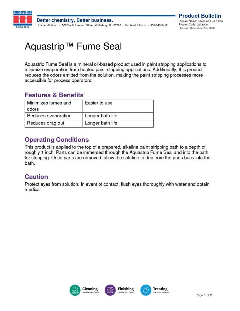 aquastrip fume seal pb 2573000 pdf 791x1024