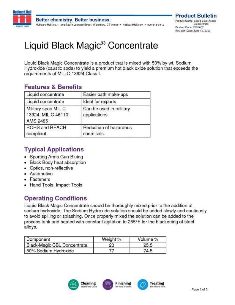 liquid black magic concentrate pb 2231007 pdf 791x1024