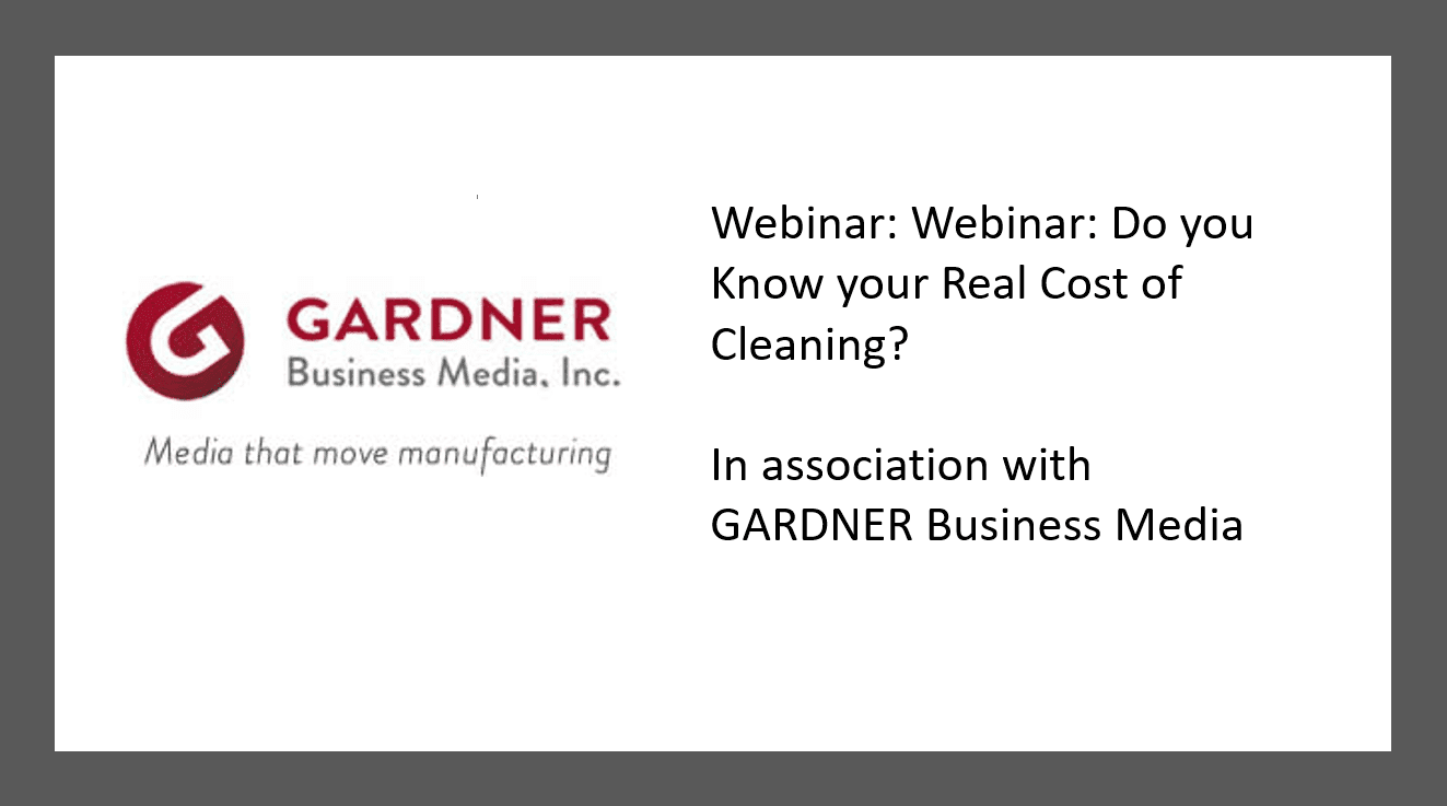 Webinar: Do you Know your Real Cost of Cleaning?