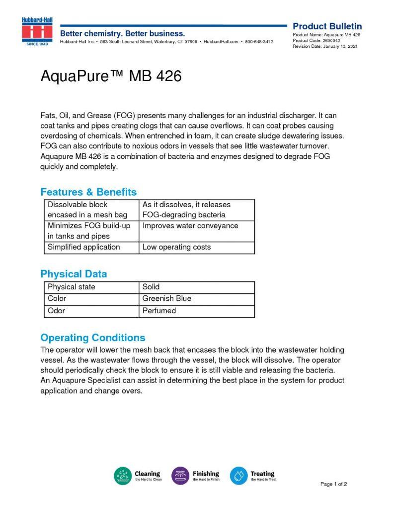 aquapure mb 426 pb 2600042 pdf 791x1024
