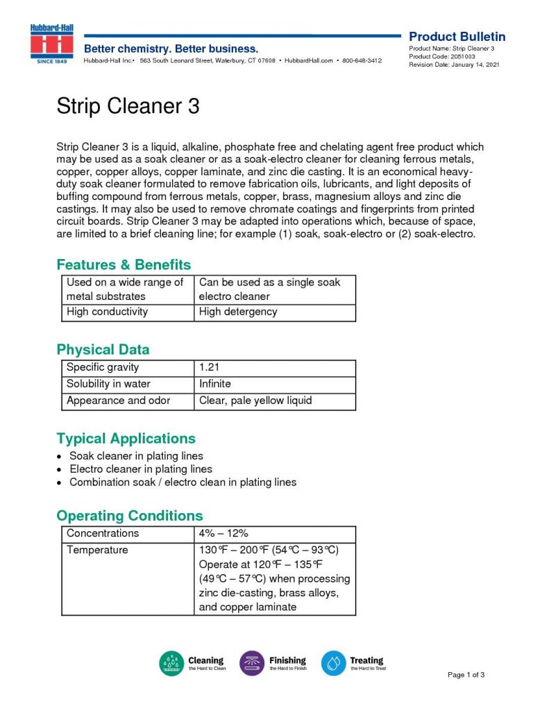 strip cleaner 3 pb 2051003 pdf 791x1024