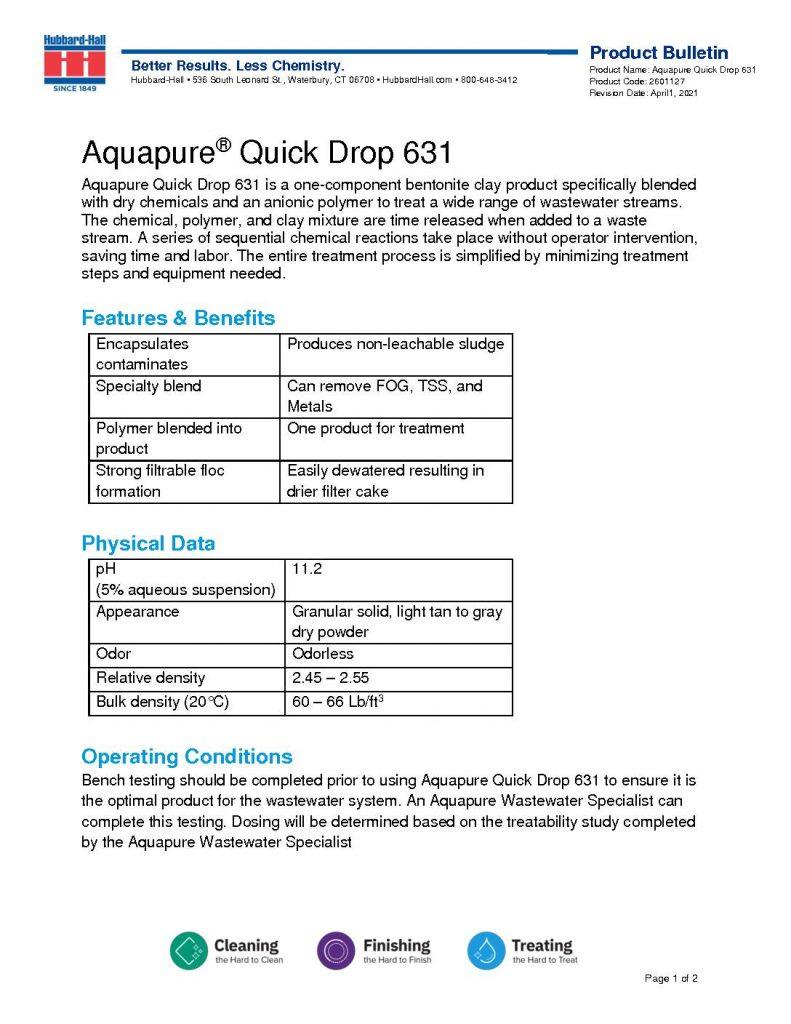 aquapure quick drop 631 pb 2601127 pdf 791x1024