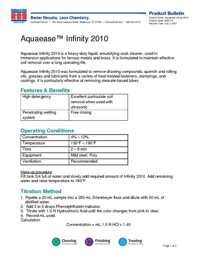 aquaease infinity 2010 pb 2052114 pdf 791x1024