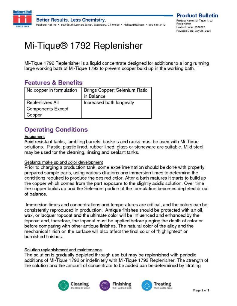 mi tique 1792 replenisher pb 2300025 pdf 791x1024