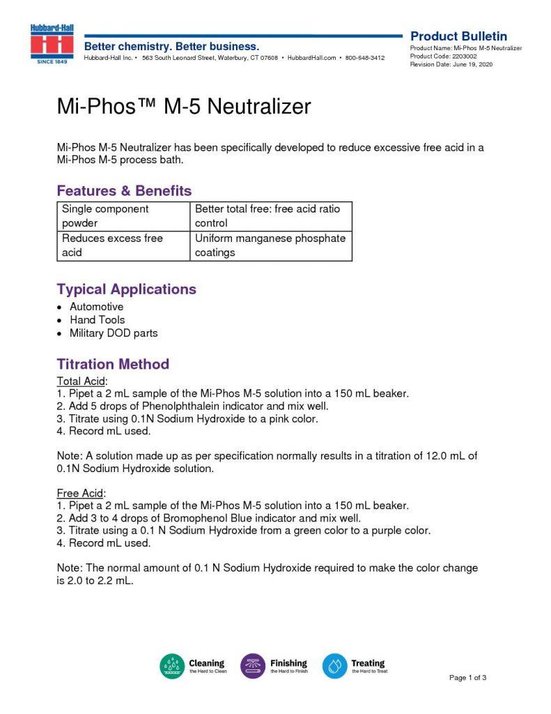 mi phos m 5 neutralizer pb 2203002 pdf 791x1024