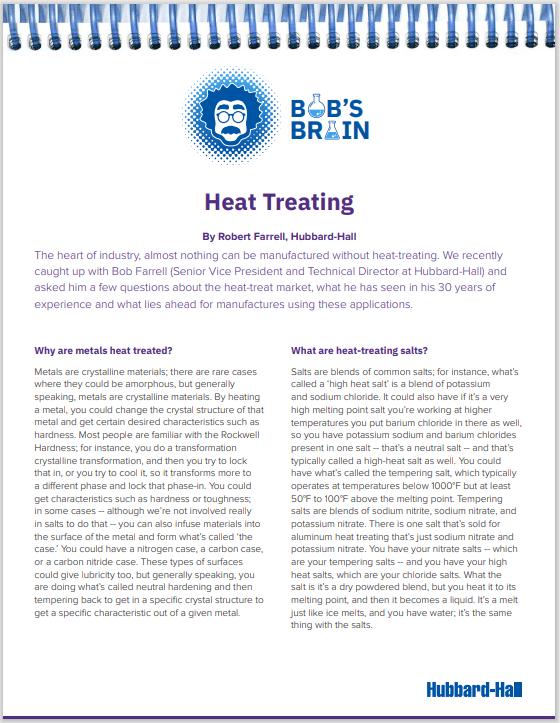 Bob's Brain:  Heat Treating